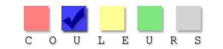Expérience interactive des couleurs - Le bleu est gagnant