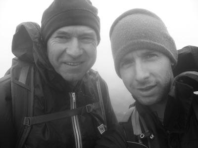 Un excellent souvenir de nous deux, au sommet du Mont Marcy (Adirondacks NY)