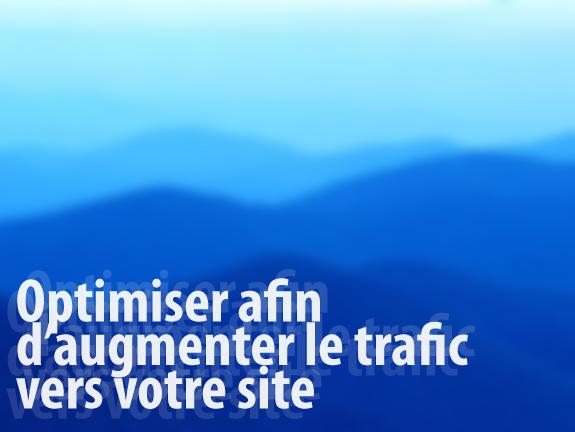 Optimisation trafic web et référencement